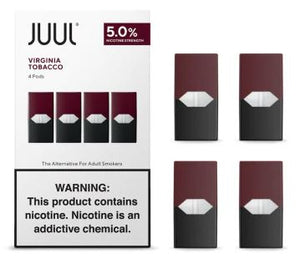 JUUL - Virginia Tobacco - 0.7ML Pods - 5% Nicotine