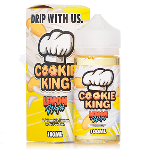 Cookie King - Lemon Wafer - 100ML Vape Juice - Cloud City Vapes NC