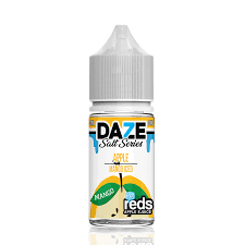 Daze Reds Apple Salts Mango Iced 30ML plastic bottle.