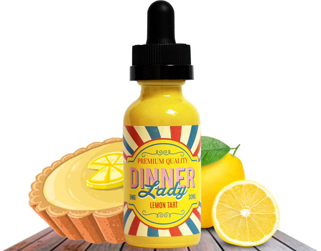 Dinner Lady - Lemon Tart - 60ml - Cloud City Vapes NC