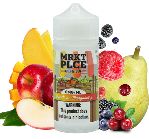 MRKT PLCE - Fuji Pear Mangoberry - 100ML Vape Juice