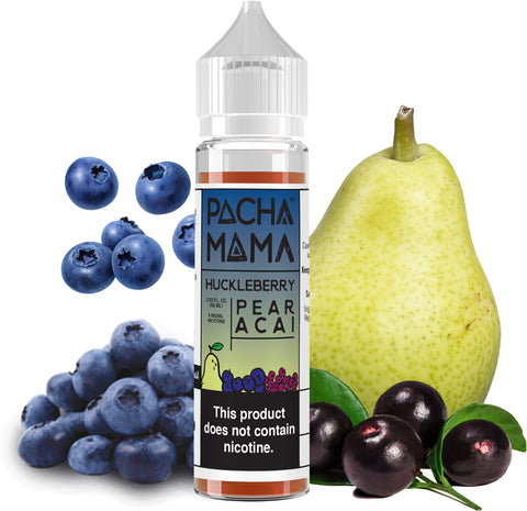 Pacha Mama - Huckleberry Pear Acai - 60ML Vape Juice