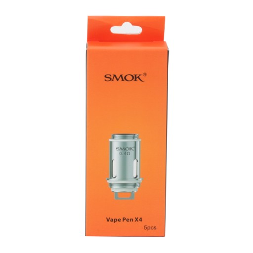 Smok Vape Pen 22 X4 Replacement Coils orange box.