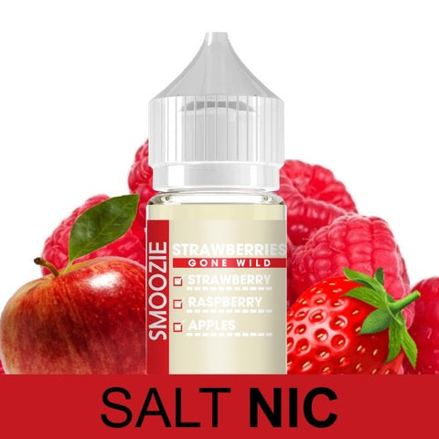 Smoozie - Strawberries Gone Wild - 30ML - Cloud City Vapes NC