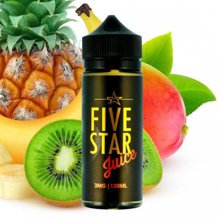 Five Star - Thunder Flood - 120ML Vape Juice - Cloud City Vapes NC