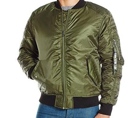 Bomber MA1 Flight Jacket - Olive