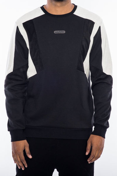Dark Toned Crewneck - Black