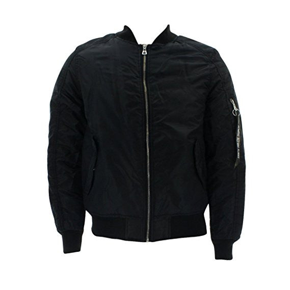 Bomber MA1 Flight Jacket - Black