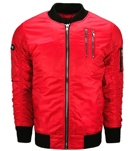 Flight Jacket -Red