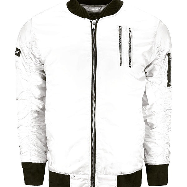 Flight Jacket - White