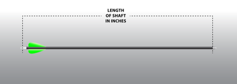 Cut Arrow Shafts