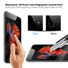 3 Pack 9H+ Premium Tempered Glass Screen Protector for Samsung and Apple Phones