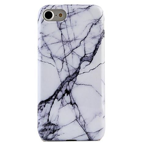 White & Gray Marble Phone Case