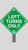 Wallpaper Wednesday - Left Turns Only