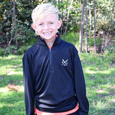 Game Day 1/4 Zip Youth Pullover