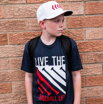Live the Baseball Life Tee - All-American
