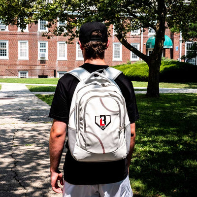 Baseball Seams Backpack
