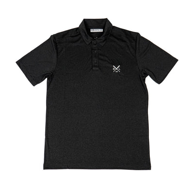 Game Day Youth Polo - Black