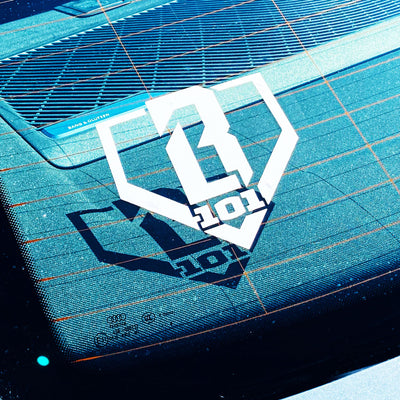 BL101 Logo Car Decal