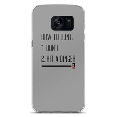 How to Bunt Samsung Case
