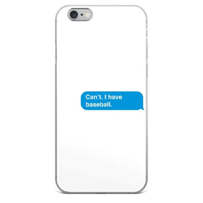 I Have Baseball iPhone Case