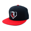 Classic Snapback - Black/Red