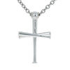 2.0 Baseball Bat Cross Pendant and Chain