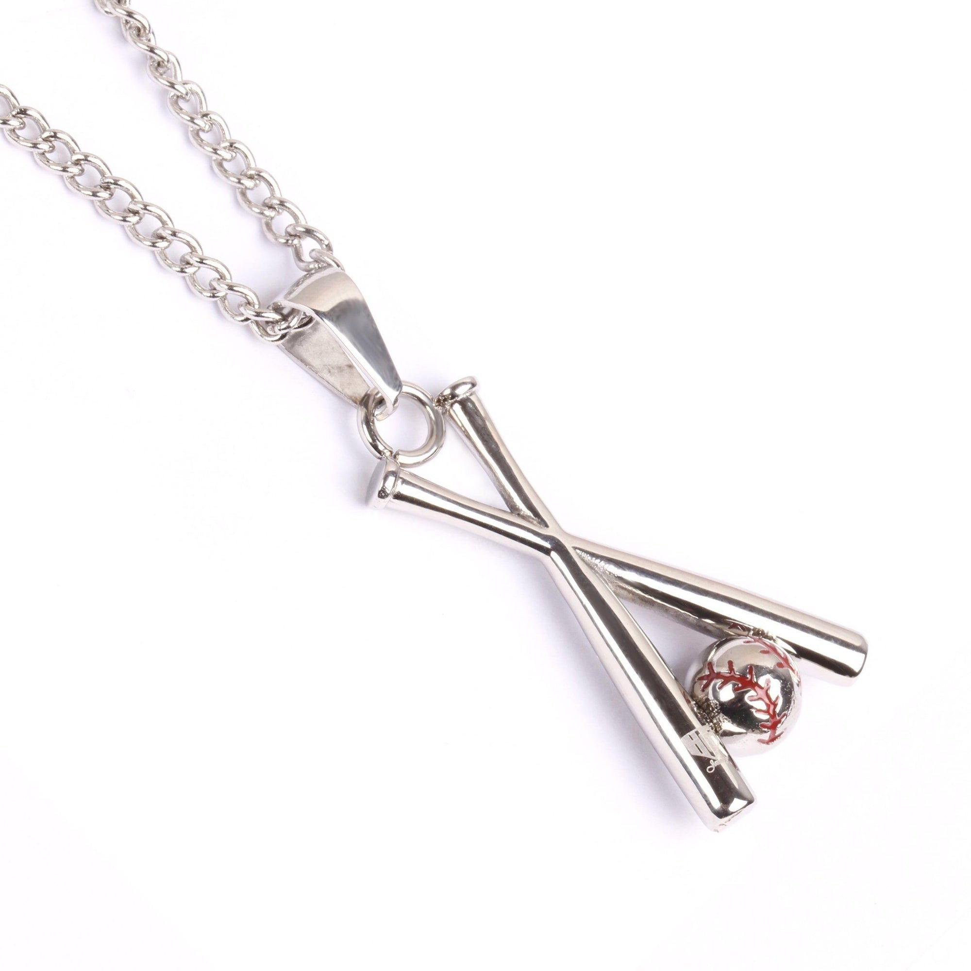 cross necklace myshoplah pendant bat fivetool baseball