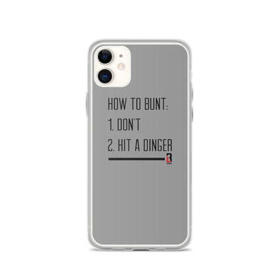 How to Bunt iPhone Case
