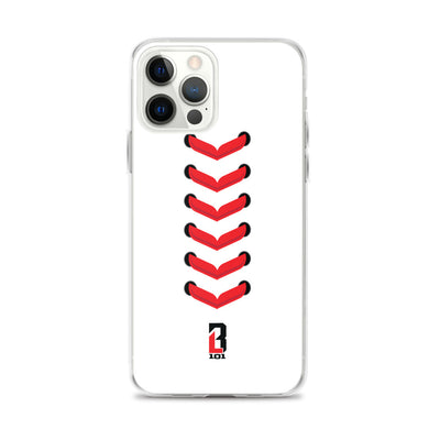 Baseball Seams iPhone Case
