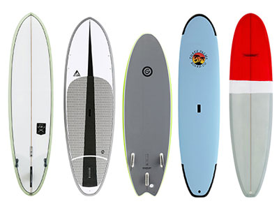 Surfboard Types