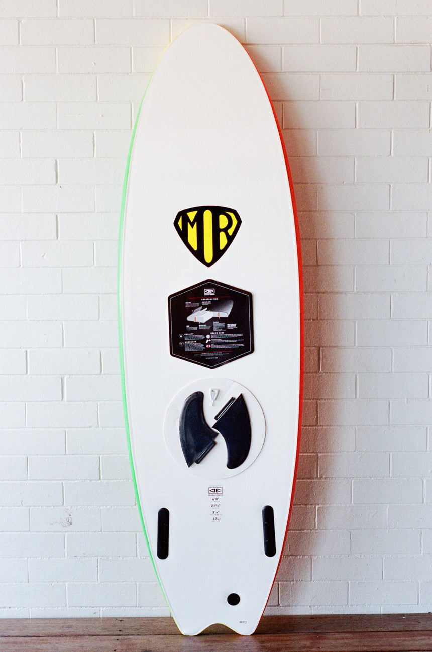 MR Spray Ezi-Rider Twin FIn