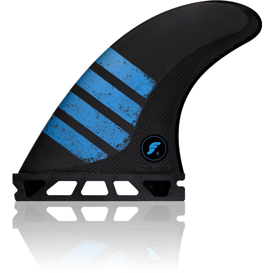 F6 ALPHA CARBON TRI FIN SET PACKAGED
