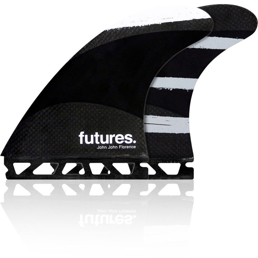 FUTURES JOHN JOHN LARGE TECHFLEX GREY TRI FIN SET