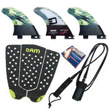 Jamie O'Brien Signature Series Fin Accessory Pack