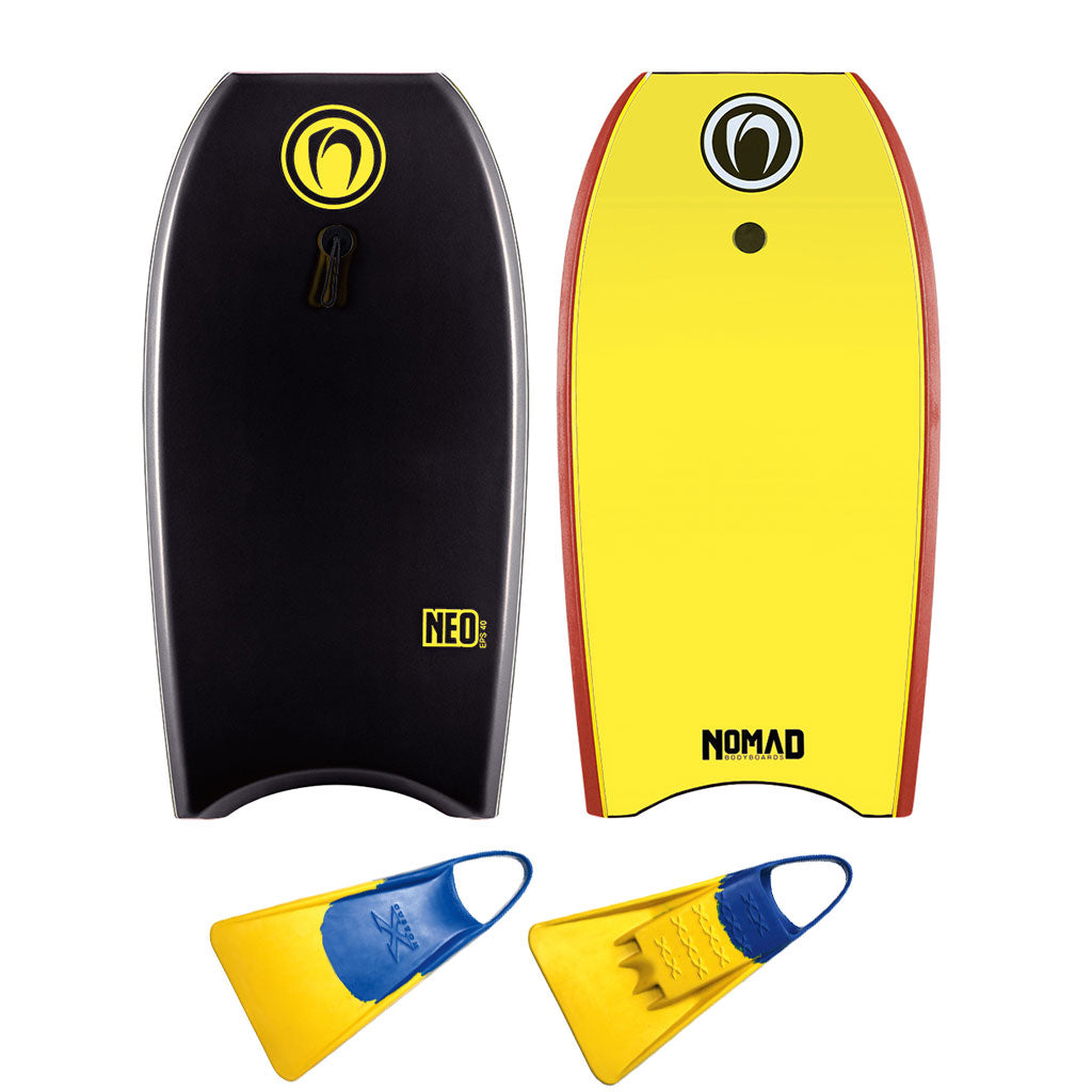 Nomad Neo Bodyboard Package