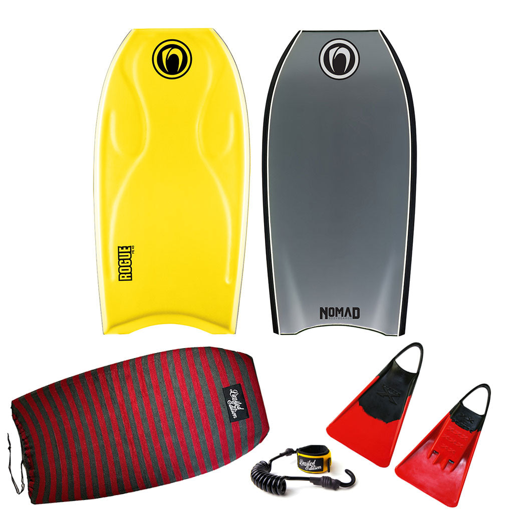 Nomad Rogue Bodyboard Package