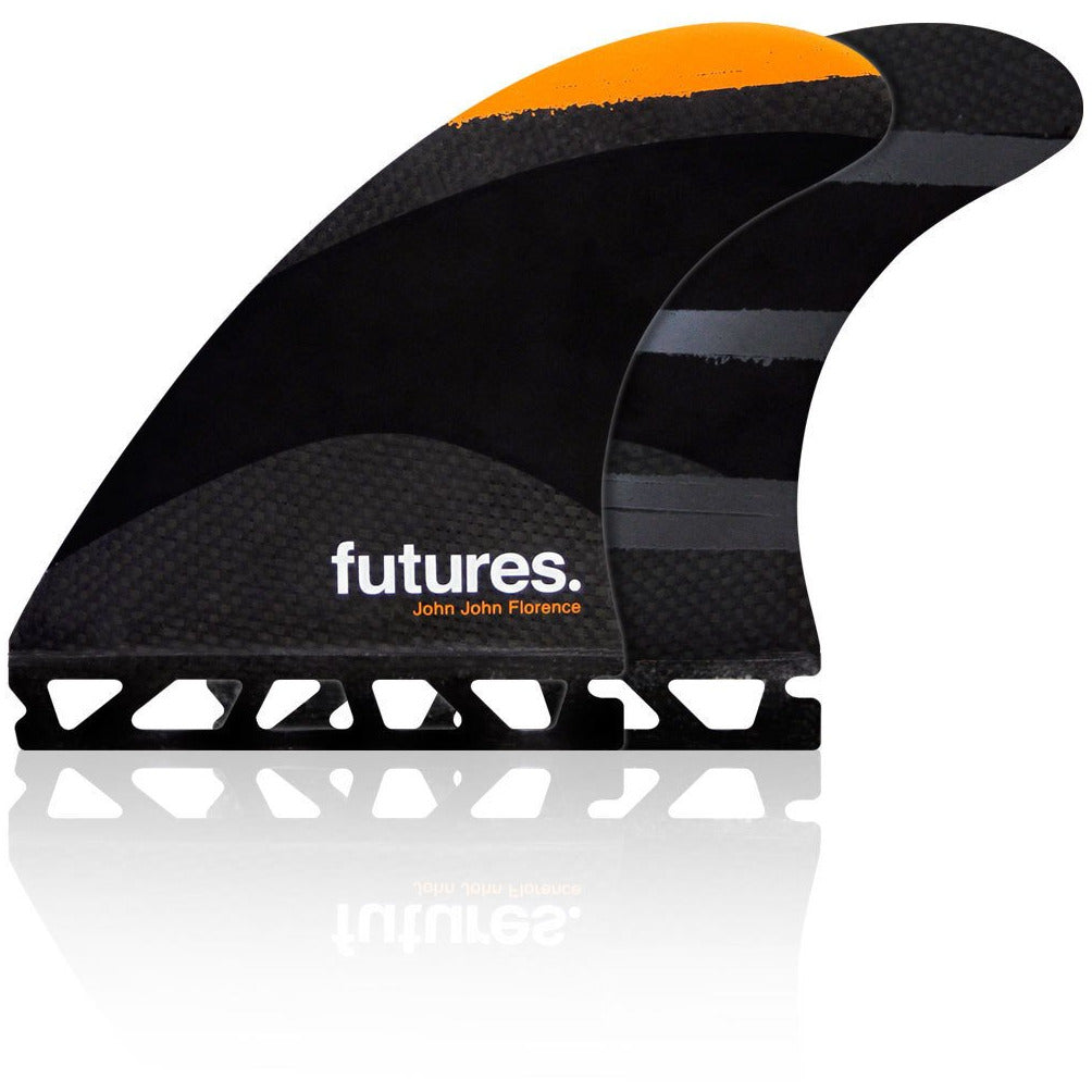 FUTURES JOHN JOHN MEDIUM TECH FLEX BLACK TRI FIN SET