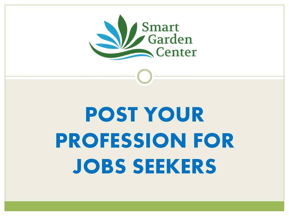 Post your profession for job seekers