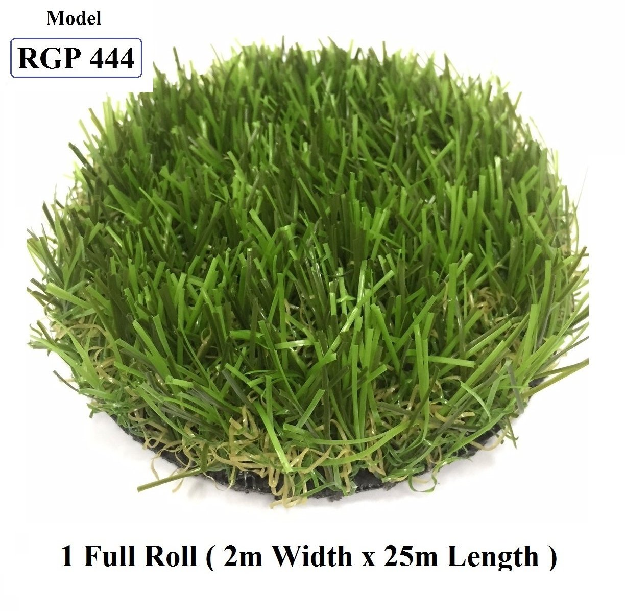ResiGrass Artificial Grass RGP444 - 36mm - 2m (W) x 25m (L), SmartGardenCenter.com