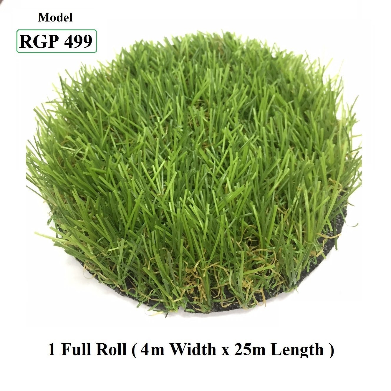 ResiGrass Artificial Grass RGP499 - 30mm - 4m (W) x 25m (L), SmartGardenCenter.com