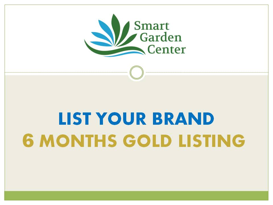 6 MONTHS GOLD BRAND LISTING