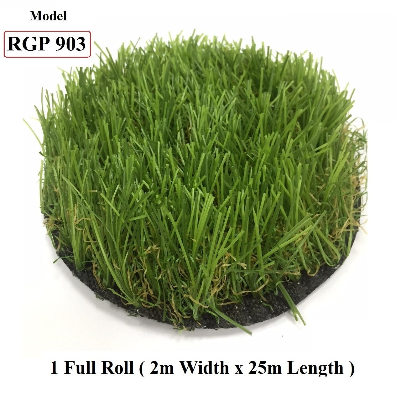 ResiGrass Artificial Grass RGP903 - 40mm - 2m (W) x 25m (L), SmartGardenCenter.com