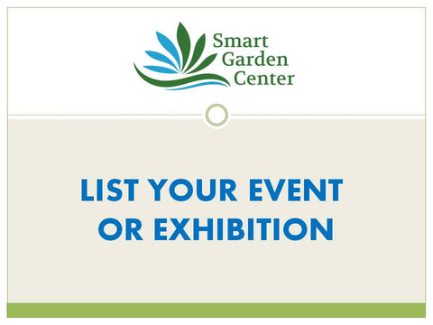 LIST YOUR EVENT OR EXHIBITION