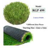 ResiGrass Artificial Grass RGP499 - 30mm - 2 meters (Width), SmartGardenCenter.com