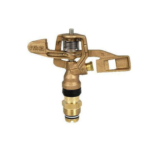 "Vyrsa VYR25 Full Circle 1/2"" Brass Impact Sprinkler"