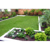resigrass artificial grass installed in home garden