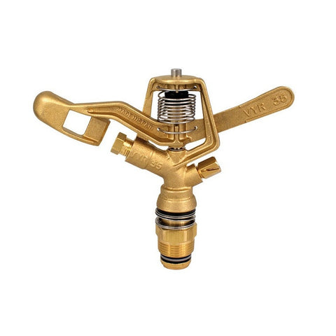 "Vyrsa VYR35 Full Circle 3/4"" Brass Impact Sprinkler"