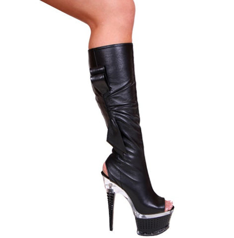Stripper Knee High Boots