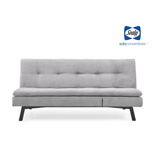 Savannah Sofa Convertible with Chaise in Linen by Sealy